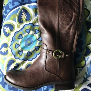 G by Guess knee-high boots